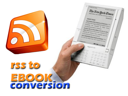rss to ebook conversion