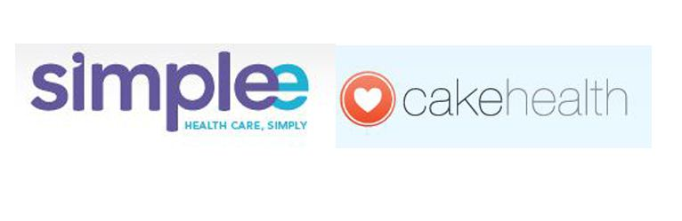 SIMPLEE AND CAKE HEALTH LOGO