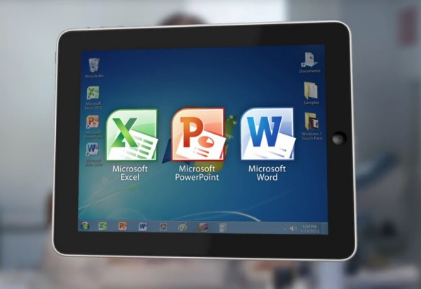 Microsoft Office in my iPad
