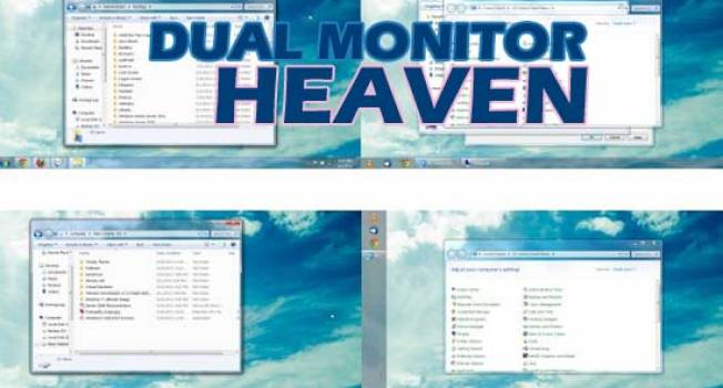 Hack-A-Day #9 Dual Monitor Heaven- Workable Windows 7 Taskbar To Second Monitor
